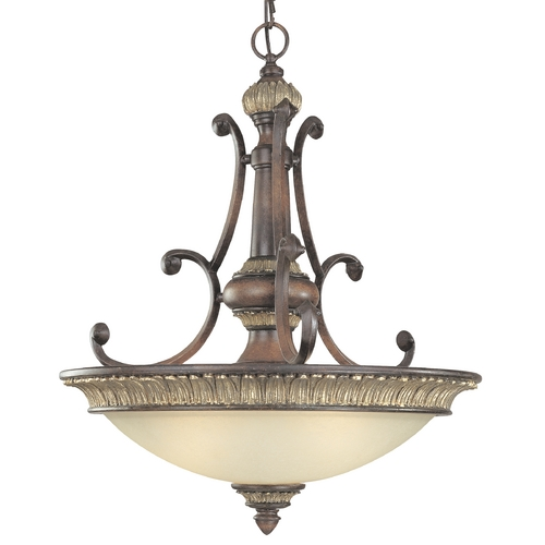 Dolan Designs Lighting 26-3/4-Inch Three-Light Pendant 2647-211