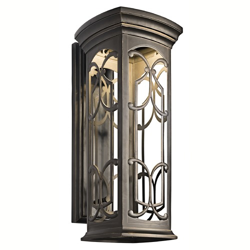Kichler Lighting Kichler Franceasi 25-Inch LED Outdoor Wall Light 49229OZLED