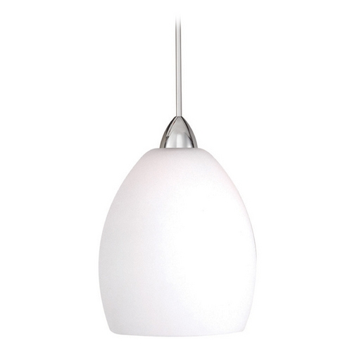 WAC Lighting WAC Lighting Contemporary Collection Chrome LED Mini-Pendant MP-LED524-WT/CH