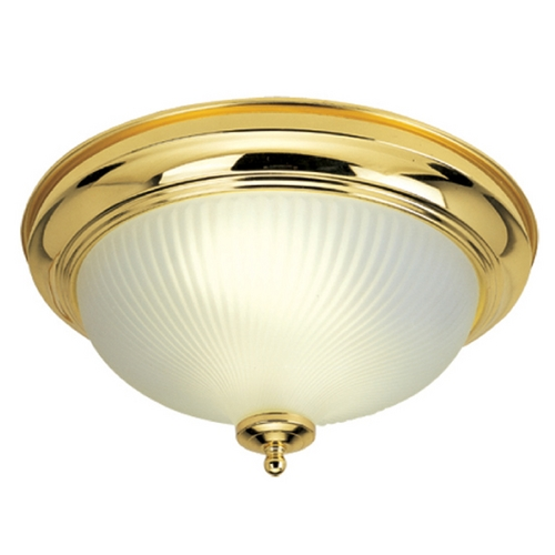 Livex Lighting Livex Lighting Polished Brass Flushmount Light 9046-02