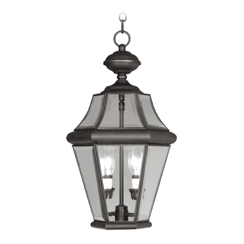 Livex Lighting Livex Lighting Georgetown Bronze Outdoor Hanging Light 2265-07
