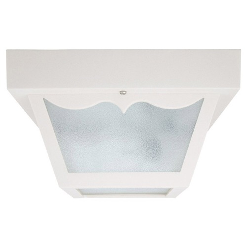 Capital Lighting Capital Lighting White Close To Ceiling Light 9237WH