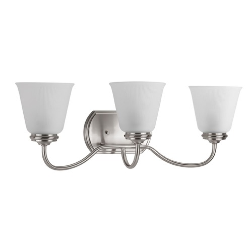 Progress Lighting Progress Lighting Keats Brushed Nickel Bathroom Light P2821-09