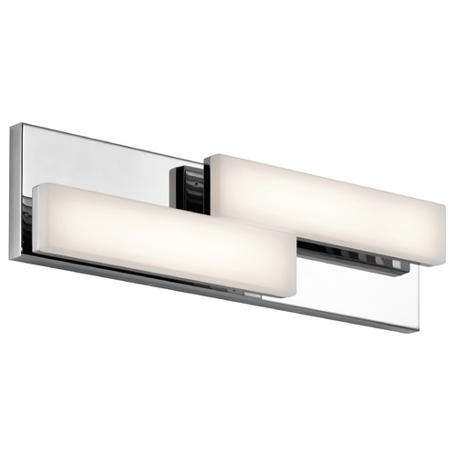 Elan Lighting Elan Lighting Zagg Chrome LED Bathroom Light 83795
