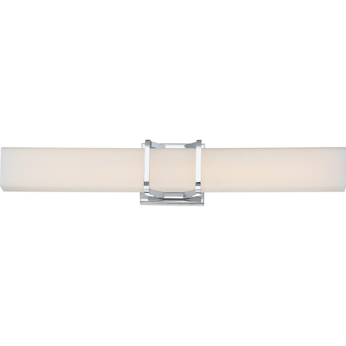 Quoizel Lighting Quoizel Lighting Platinum Axis Polished Chrome LED Bathroom Light PCAS8525C
