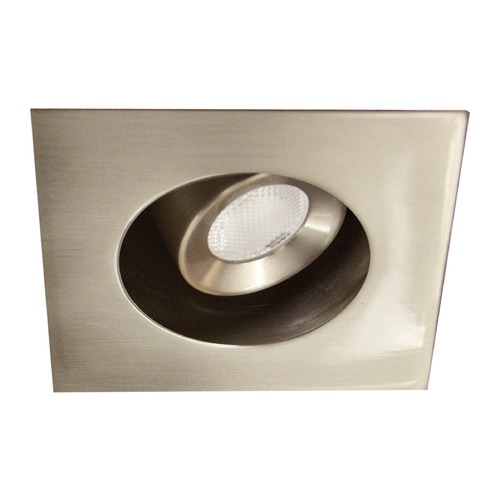 WAC Lighting WAC Lighting Ledme Miniature Recessed Brushed Nickel LED Recessed Trim HR-LED272R-40-BN