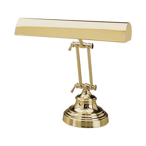 House of Troy Lighting Piano / Banker Lamp in Polished Brass Finish P14-231-61