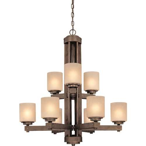 Dolan Designs Lighting Nine-Light Chandelier 2702-90