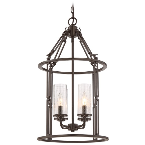Quoizel Lighting Quoizel Buchanan Western Bronze Pendant Light BCN5204WT