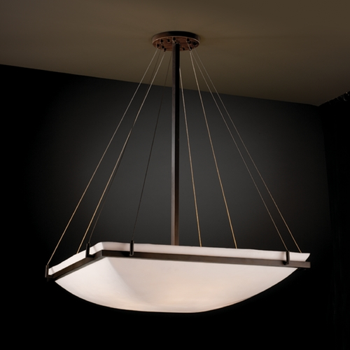 Justice Design Group Justice Design Group Porcelina Collection Pendant Light PNA-9794-25-SMTH-DBRZ