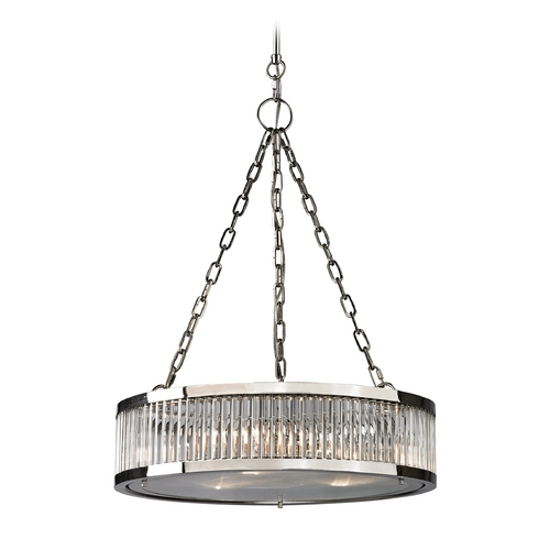 Elk Lighting Pendant Light in Polished Nickel Finish 46105/3