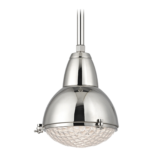 Hudson Valley Lighting Hudson Valley Lighting Belmont Polished Nickel Pendant Light 8109-PN