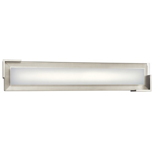 Elan Lighting Elan Lighting Jaxen Brushed Nickel LED Bathroom Light 83798