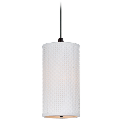 ET2 Lighting Modern Mini-Pendant Light with White Shade E95130-100OI