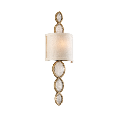 Corbett Lighting Corbett Lighting Fame & Fortune Brazilian Silver Lea Sconce 167-11