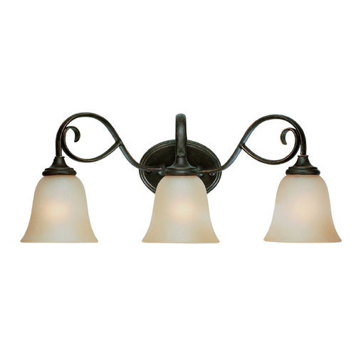 Jeremiah Lighting Jeremiah Barrett Place Mocha Bronze Bathroom Light 24203-MB