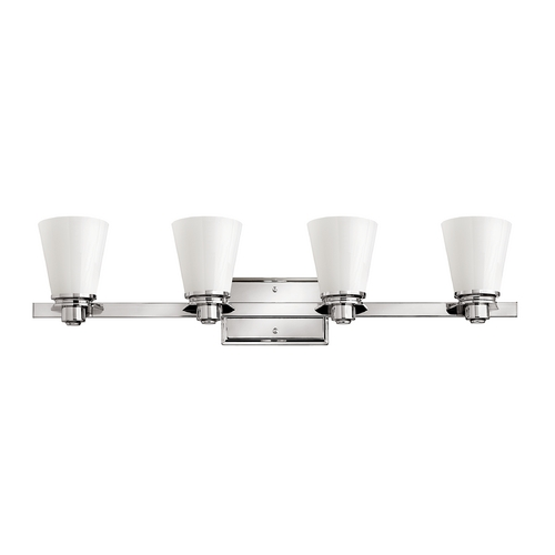 Hinkley Lighting Four-Light Bathroom Light 5554CM