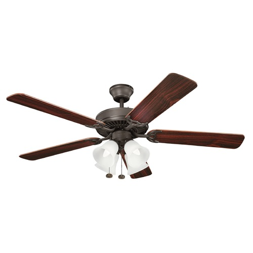 Kichler Lighting Kichler Lighting Basics Ceiling Fan with Light 402SNB