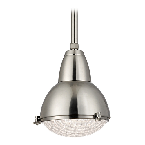 Hudson Valley Lighting Hudson Valley Lighting Belmont Satin Nickel Pendant Light 8109-SN