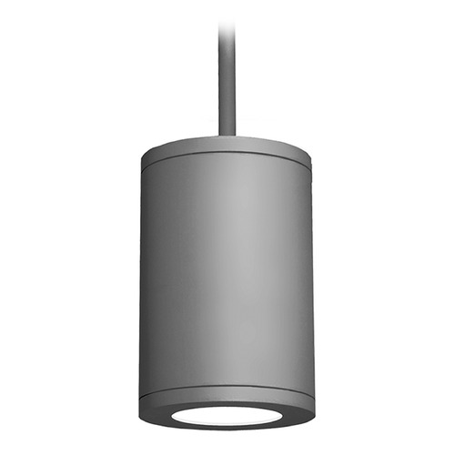 WAC Lighting 8-Inch Graphite LED Tube Architectural Pendant 2700K 3365LM DS-PD08-S27-GH