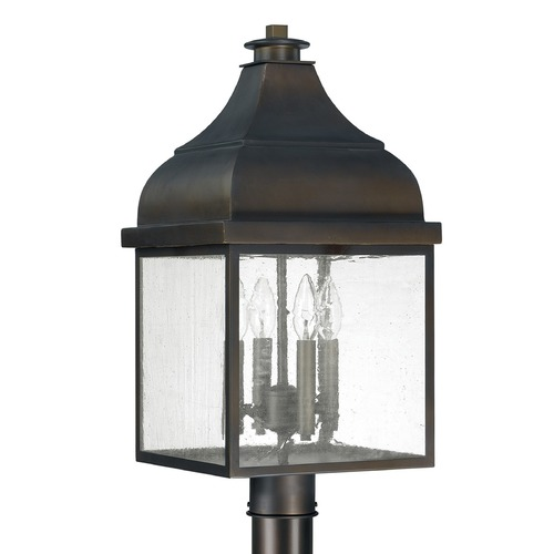 Capital Lighting Capital Lighting Westridge Old Bronze Post Light 9645OB
