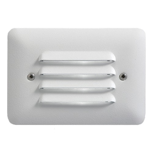 Kichler Lighting Kichler Modern LED Recessed Step Light in Textured White Finish 15072WHT