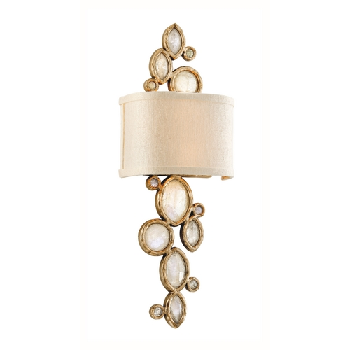 Corbett Lighting Corbett Lighting Fame & Fortune Brazilian Silver Lea Sconce 167-12