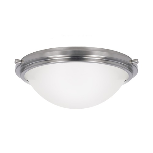 Sea Gull Lighting Sea Gull Lighting Winnetka Brushed Nickel Flushmount Light 75661-962