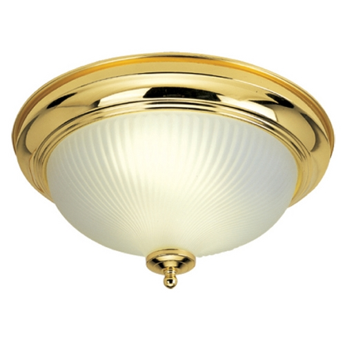Livex Lighting Livex Lighting Polished Brass Flushmount Light 9045-02