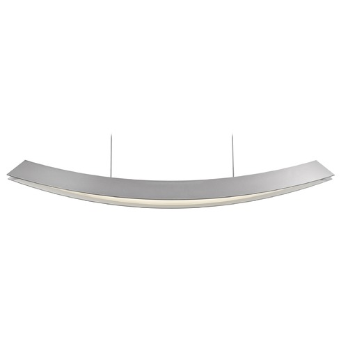 Sonneman Lighting Sonneman Kabu Bright Satin Aluminum LED Pendant Light 1742.16