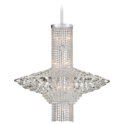 Metropolitan Lighting Metropolitan Saybrook Catalina Silver Pendant Light N7310-598