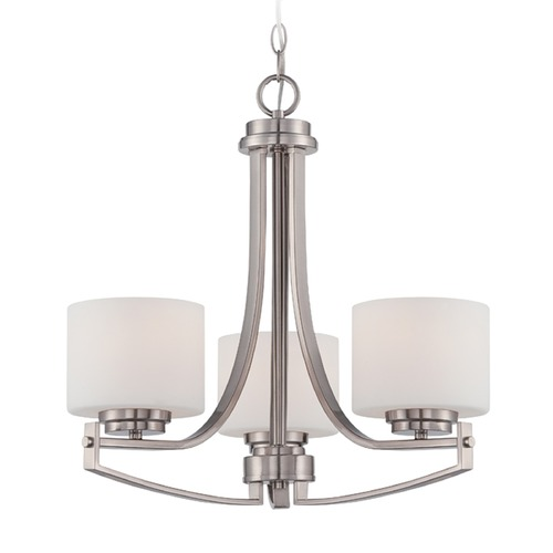 Designers Fountain Lighting Designers Fountain Axel Satin Platinum Chandelier 86283-SP