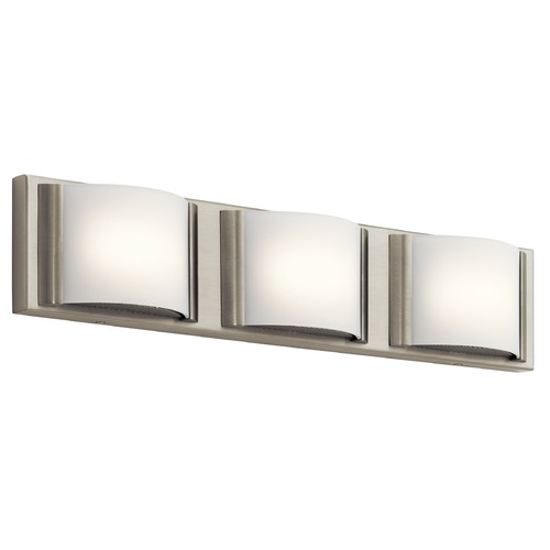 Elan Lighting Elan Lighting Bretto Brushed Nickel LED Bathroom Light 83818