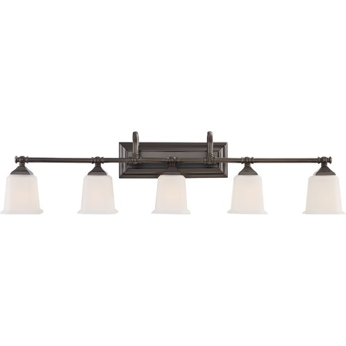 Quoizel Lighting Quoizel Lighting Nicholas Harbor Bronze Bathroom Light NL8605HO