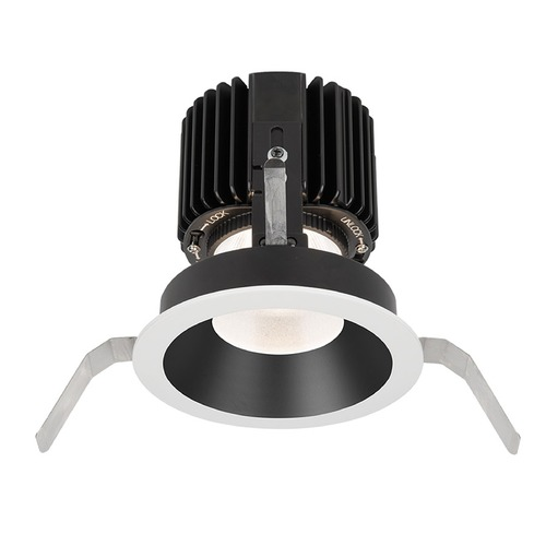WAC Lighting WAC Lighting Volta Black White LED Recessed Trim R4RD1T-F830-BKWT