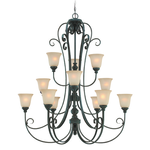 Craftmade Lighting Craftmade Barrett Place Mocha Bronze Chandelier 24212-MB