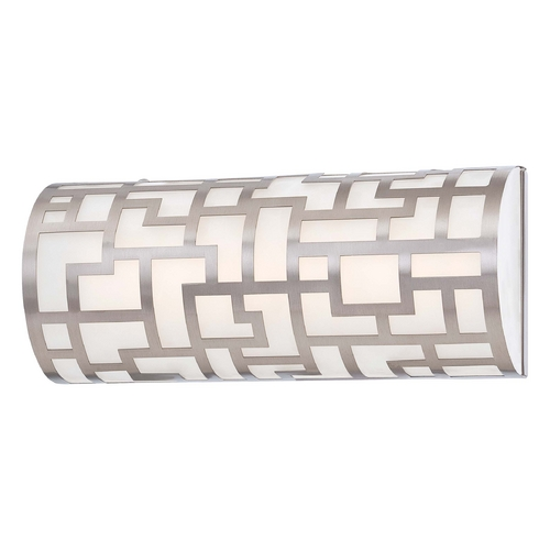 George Kovacs Lighting Alecia Necklace Brushed Nickel LED Bathroom Light - Vertical or Horizontal Mounting P5300-084-L