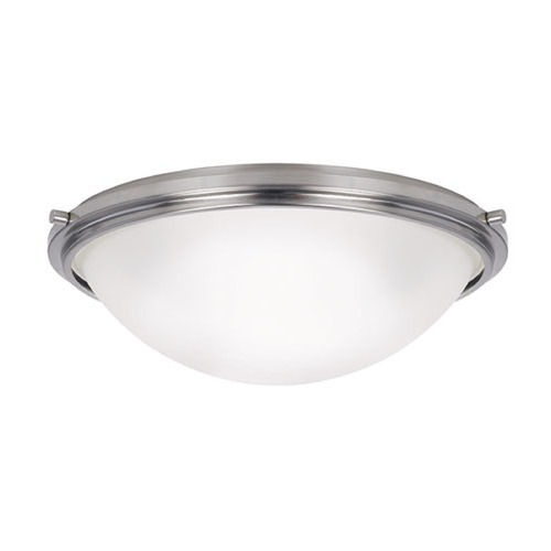 Sea Gull Lighting Sea Gull Lighting Winnetka Brushed Nickel Flushmount Light 75662-962