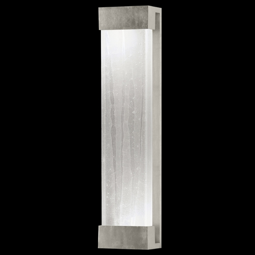 Fine Art Lamps Fine Art Lamps Crystal Bakehouse Silver Leaf Sconce 811150-33ST