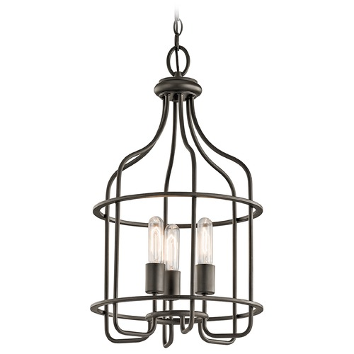 Kichler Lighting Kichler Lighting Tinley Olde Bronze Pendant Light 42854OZ