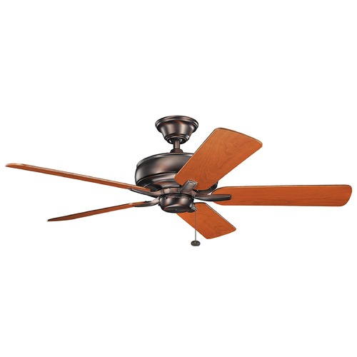 Kichler Lighting Kichler Lighting Terra Oil Brushed Bronze Ceiling Fan Without Light 330247OBB