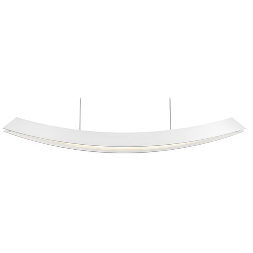 Sonneman Lighting Sonneman Kabu Textured White LED Pendant Light 1742.98