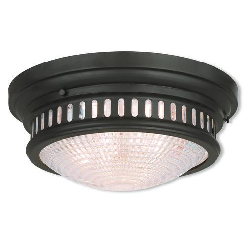 Livex Lighting Livex Lighting Berwick Bronze Flushmount Light 73053-07