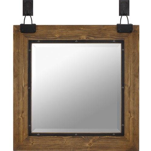 Quoizel Lighting Becker Square 24-Inch Mirror QR5172