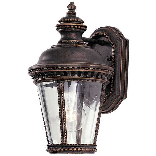 Feiss Lighting 11-3/4-Inch Outdoor Wall Light OL1900GBZ