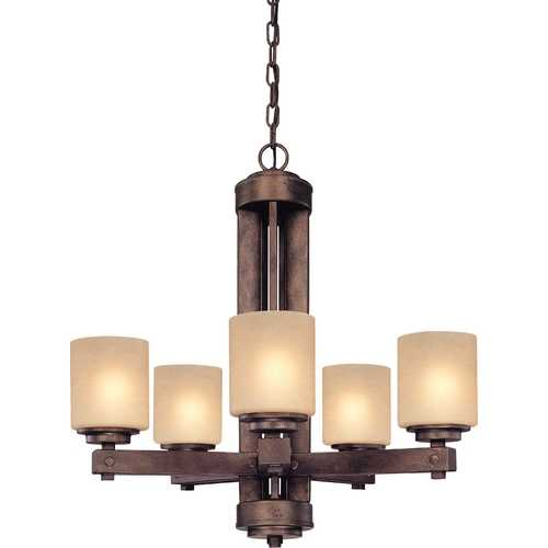 Dolan Designs Lighting Dolan Designs 5-Light Chandelier in Sienna 2700-90