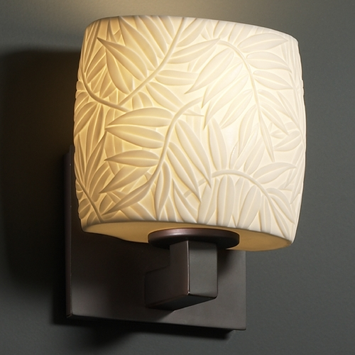 Justice Design Group Justice Design Group Limoges Collection Sconce POR-8931-30-BMBO-DBRZ