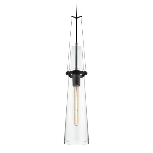Sonneman Lighting Modern Mini-Pendant Light with Clear Glass 4751.25
