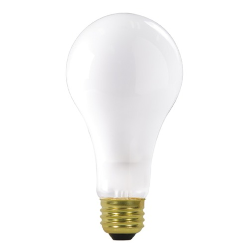 Satco Lighting Incandescent A-Type Light Bulb Medium Base 2700K Dimmable S3957