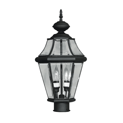Livex Lighting Livex Lighting Georgetown Black Post Light 2264-04
